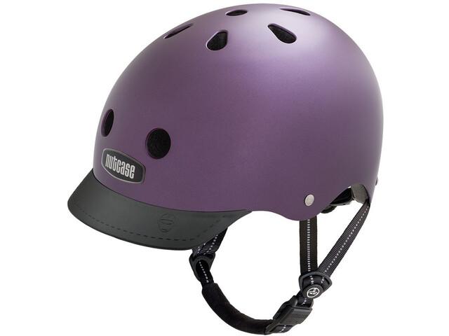 Nutcase Street Helmet Kinder passion purple pearl metallic